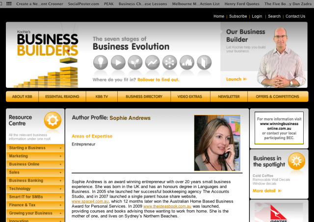 Kochie Business Builder profile