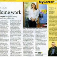 The Sydney Morning Herald – My Career  Discovers that working for yourself means finding a niche